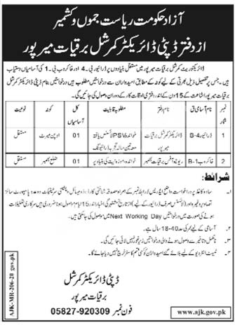 Electricity Department Mirpur Jobs 2020 Latest