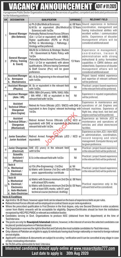 Atomic Energy Progresseive Public Sector Organization Jobs 2020