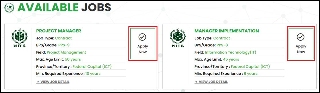 Njp Process Of Applying Method