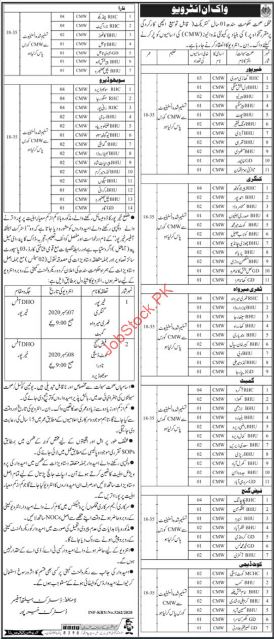 Health Department Khairpur Jobs 2020 (1)