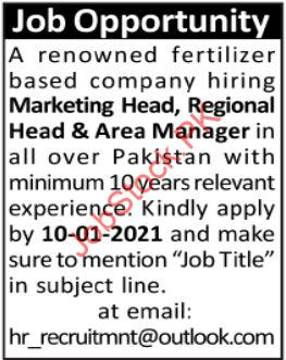 Fertilizer Company Jobs 2021
