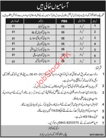 Public Health Engineering Division Phed Dir Lower Jobs 2021