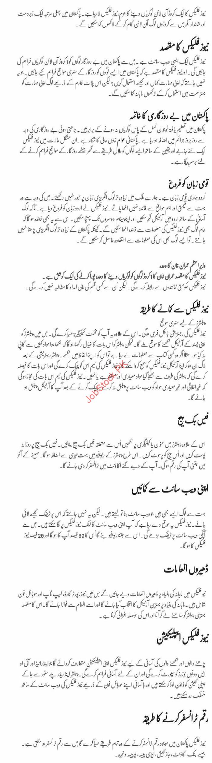 Content Writing Jobs In Pakistan Online
