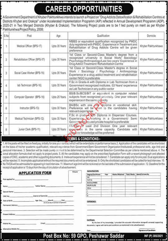 Health Department Kpk Jobs January 2021 Jobs
