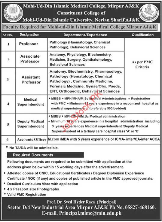 Government Teaching Jobs In Azad Kashmir 2021
