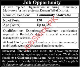 Ngo Jobs In Kurram Latest Jobs In Kurram Kpk