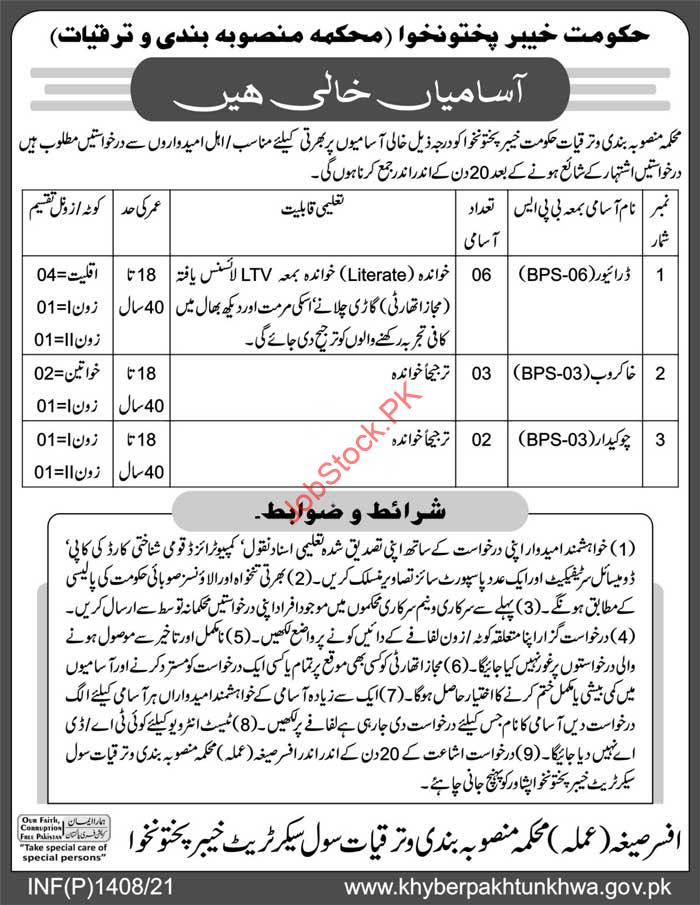 Driver Jobs In Peshawar 2021 Government Jobs