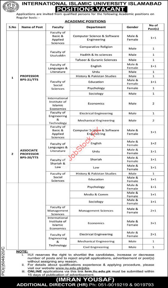 Government Teaching Jobs In Islamabad 2021