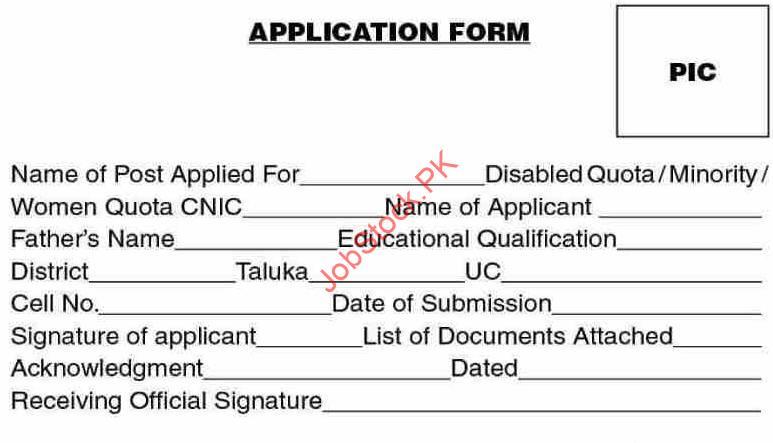 Latest School Education & Literacy Department Education Jobs Badin 2021 Application Form