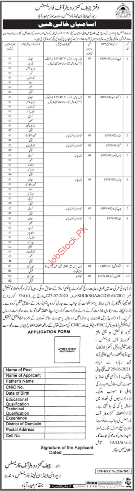 Sindh Forest Department Jobs 2021 Downloadadvertisement And Application Form