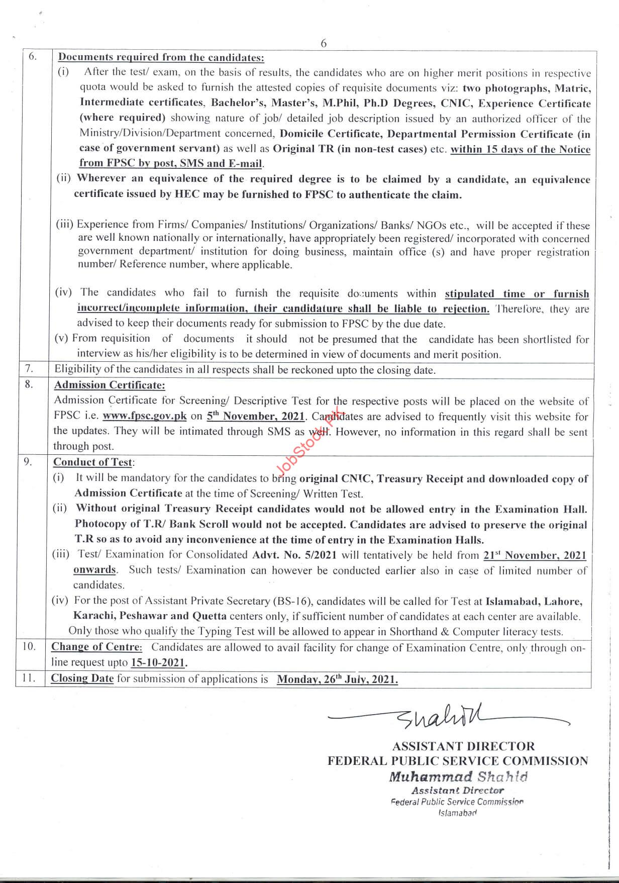 Asf Jobs 2021 Advertisement Form Page 02