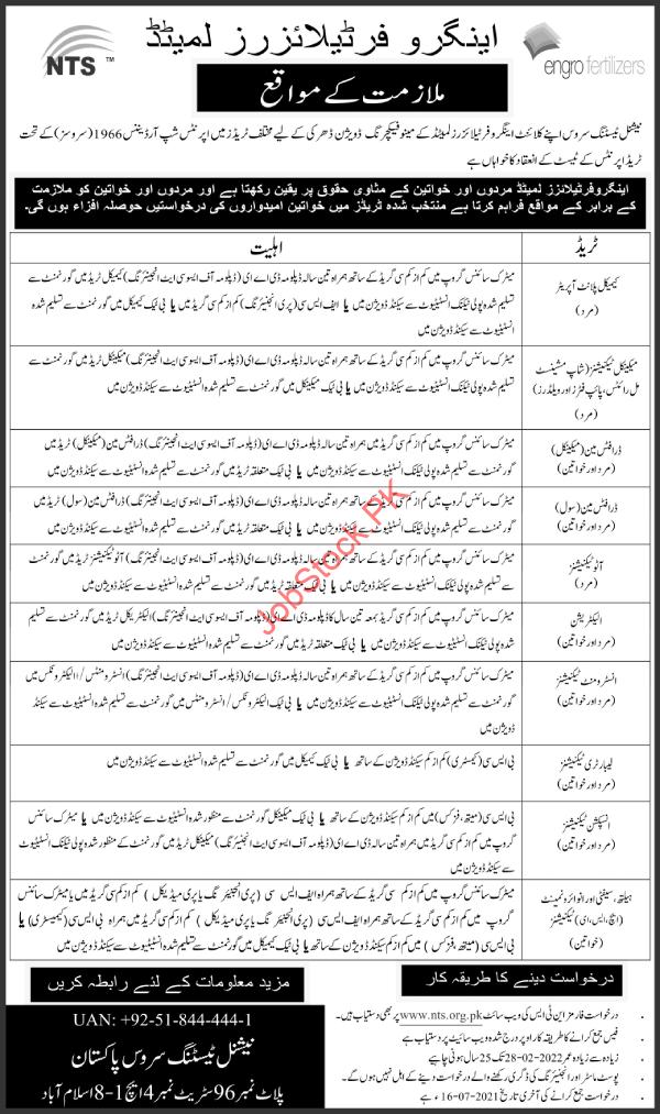 Engro Fertilizer Jobs 2021 Online Apply Urdu