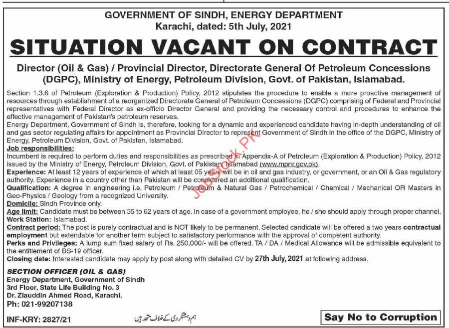 Pakistan Petroleum Limited Jobs Add